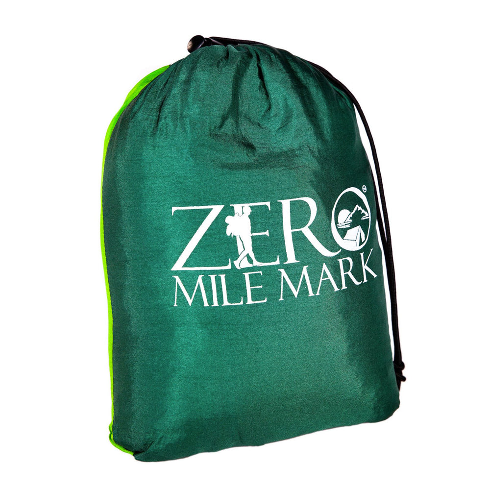 Zero Mile Mark™ Ready-to-Hang Parachute Style Hammock w/ Bug Netting