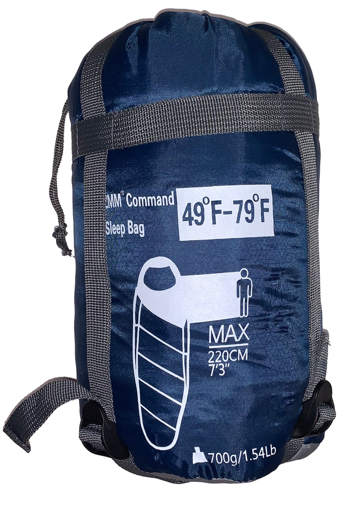 ZMM Command, Compact, 3-Season Sleep Bag (2 Color Options)