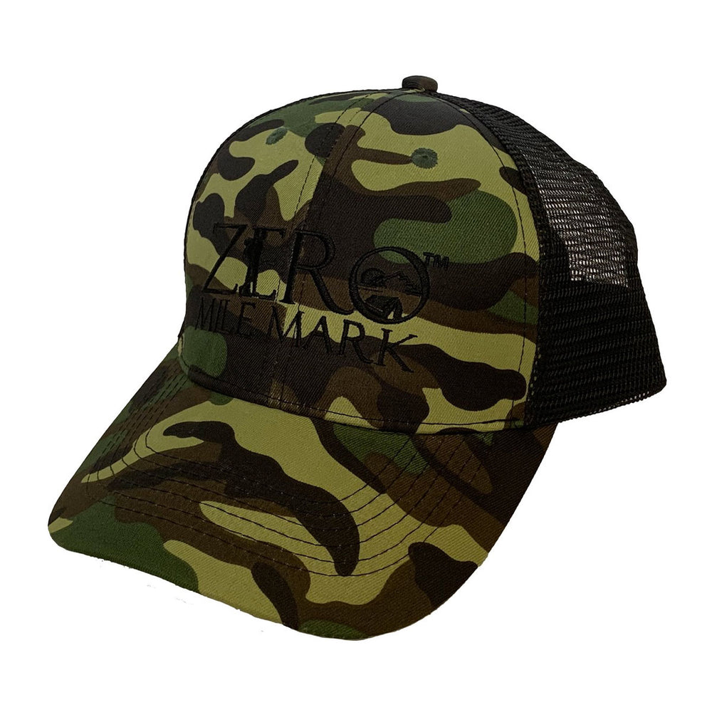 6 Panel, Low Profile Mesh Hat (4 Color Options)