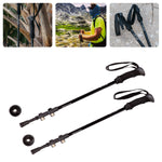 Zero Mile Mark™ Trekking Poles - Carbon Fiber, Adjustable