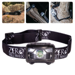 Zero Mile Mark™ ALPHA Headlamp - Rechargeable, Motion On/Off Option (2 Color Options)