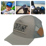 Zero Mile Mark™ Official Logo Mesh Snapback Hat - unisex, 1 size fits all - Zero Mile Mark