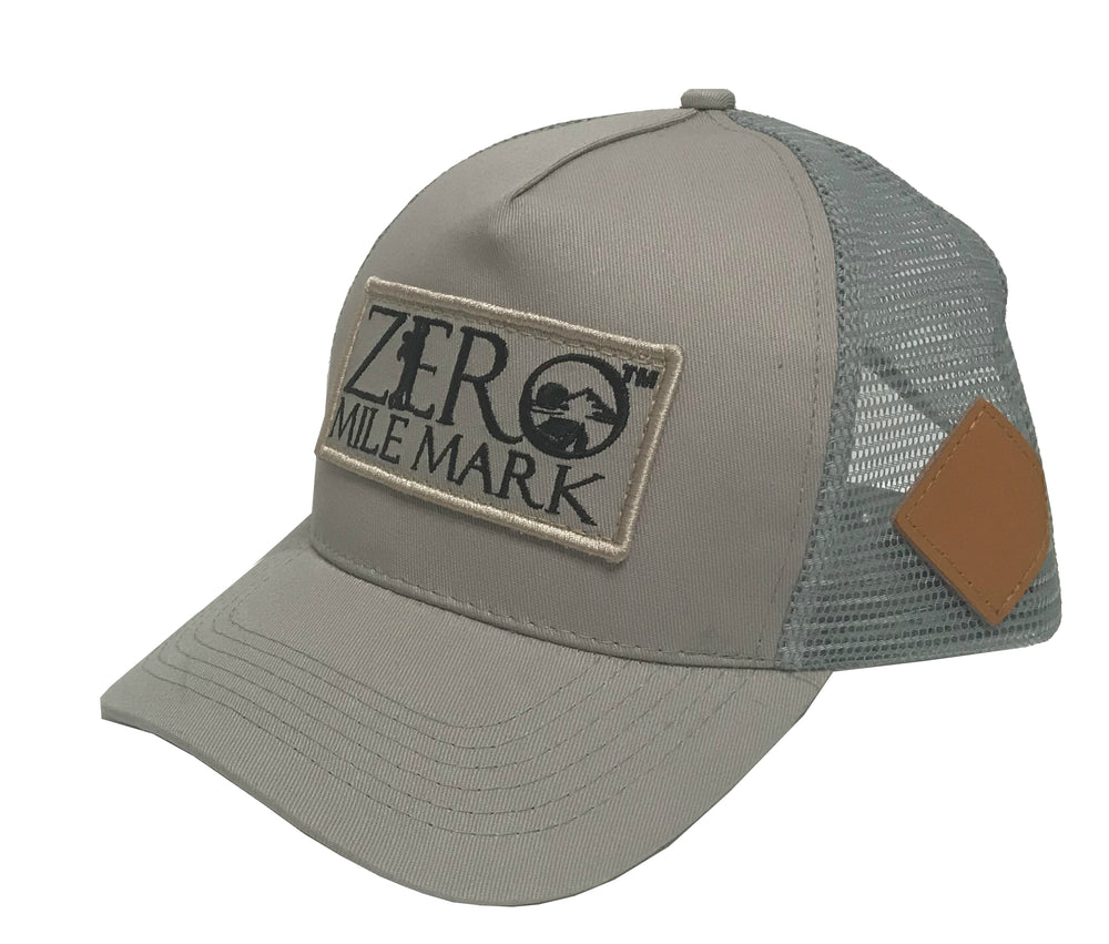 Zero Mile Mark™ Official Logo Mesh Snapback Hat - unisex, 1 size fits all (4 Color Options)
