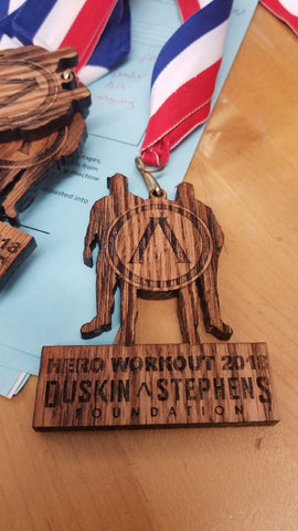duskins and stephens wooden medal