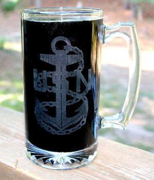 The Sailor's Creed Beer Mug,U.S. Navy