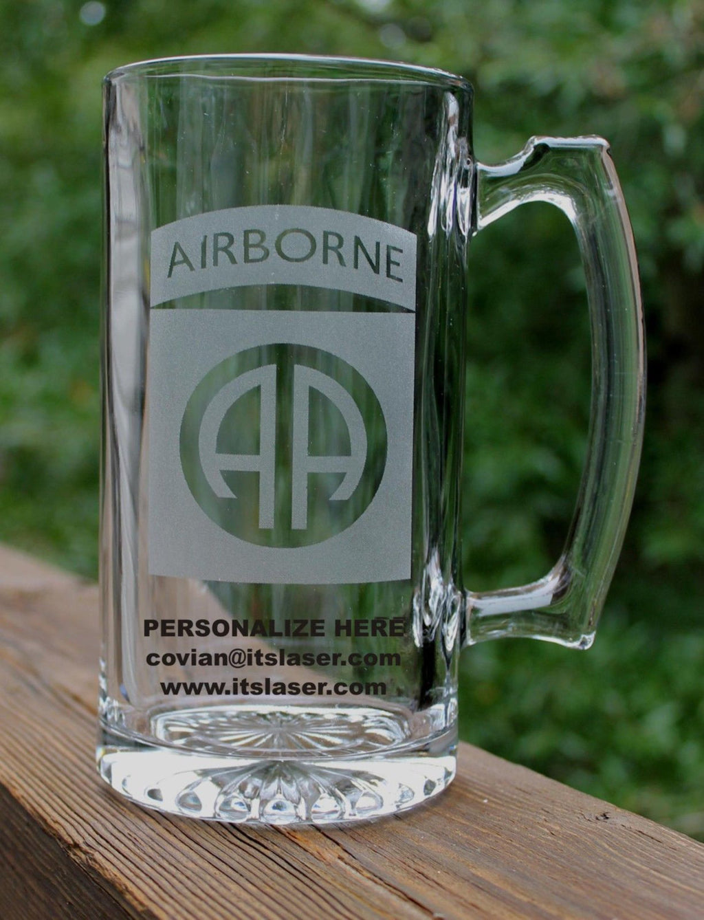 US ARMY 82ND Airborne Division Beer Mug
