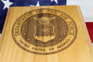 United States Air Force Seal Plaque