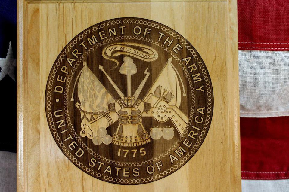 US Army Seal Plaque