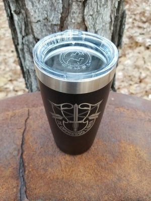 INSULATED TUMBLER TRAVEL MUG 20 OZ , SPECIAL FORCES
