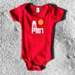 BABY ONESIE / PTOWN LTH / RED