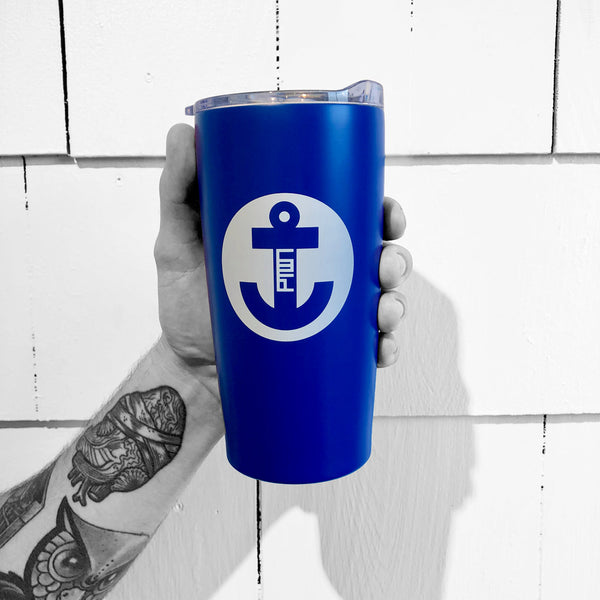 TO-GO CUP / PTOWN / STAINLESS BLUE 16OZ
