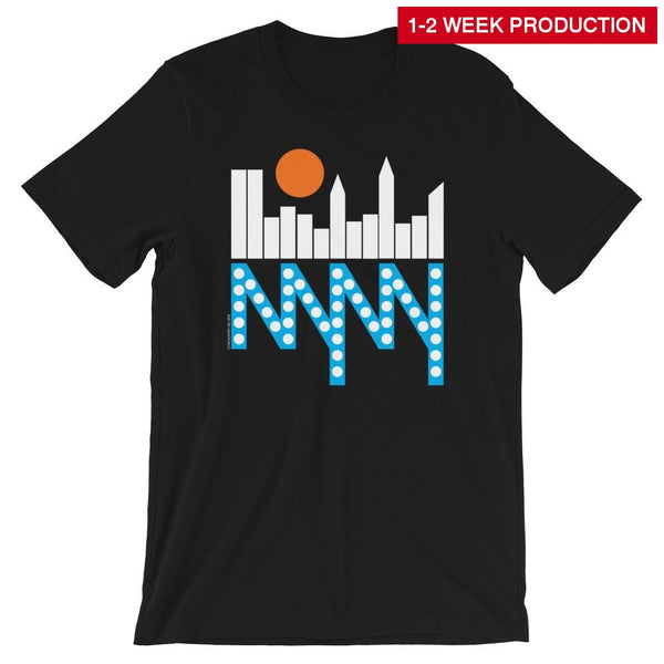 Tee / Nyc Skyline Crew Neck T