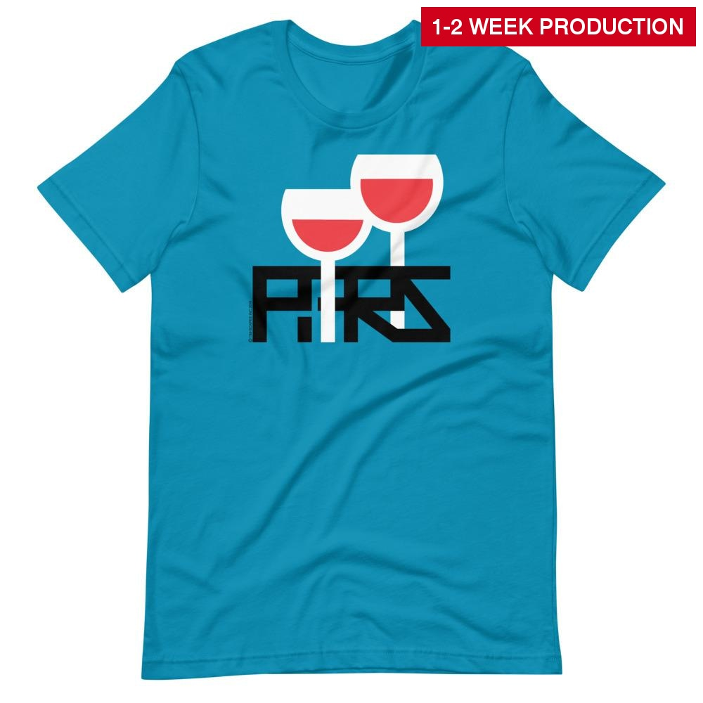 Tee / Paris Wine S Crew Neck T