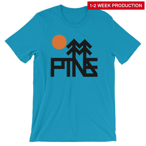 Tee / Pines Trees Crew Neck T