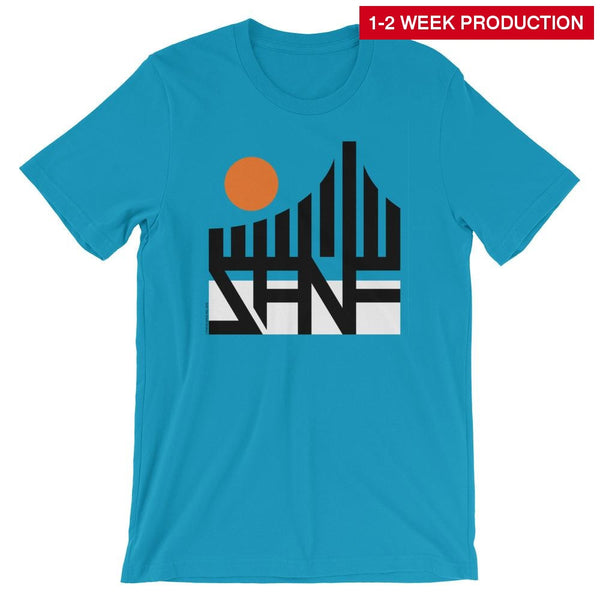 Tee / San Francisco Bridge Crew Neck T