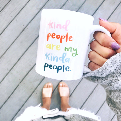 Kind People Mug | A Little Tinsel