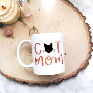 Cat Mom Mug - A Little Tinsel