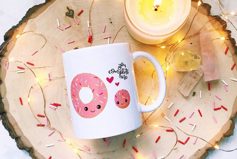 You Complete Me Donut Mug - A Little Tinsel