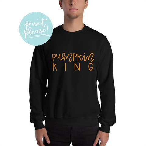 Pumpkin King Sweatshirt - A Little Tinsel