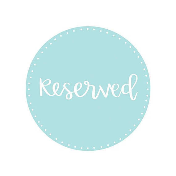 Reserved Listing for Rhianne - A Little Tinsel