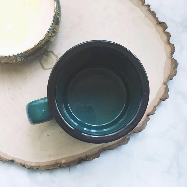 Cotton Headed Ninny Muggins / Green Campfire Mug - A Little Tinsel