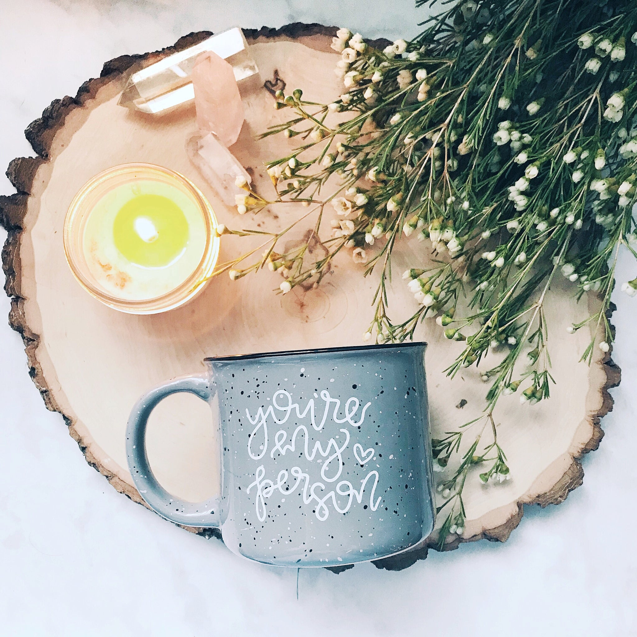 You're My Person / Grey Campfire Mug | A Little Tinsel