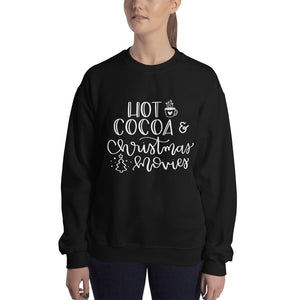 Hot Cocoa & Christmas Movies Sweatshirt - A Little Tinsel