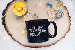 Witches Brew / Black Campfire Mug | A Little Tinsel