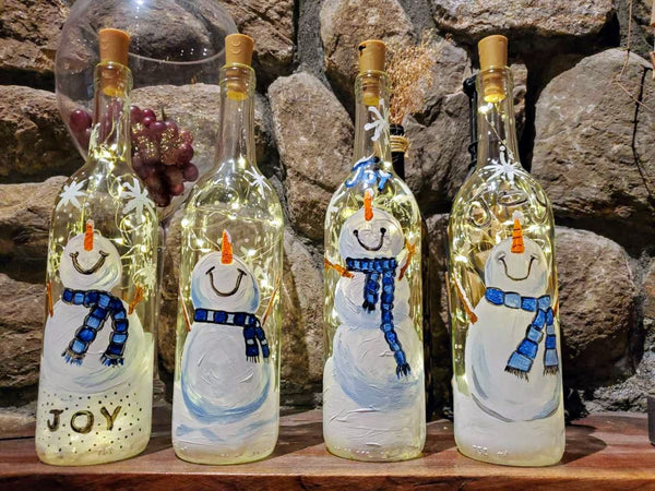Snowman Paint & Sip at Thomas Hooker Brewery in Bloomfield CT | 12.12.19 | 6:30-8:30 PM