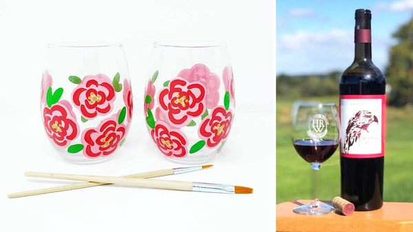 Spring Wine Glass Workshop | Hawk Ridge Winery in Watertown CT | 3.11.21 | 6-8 PM