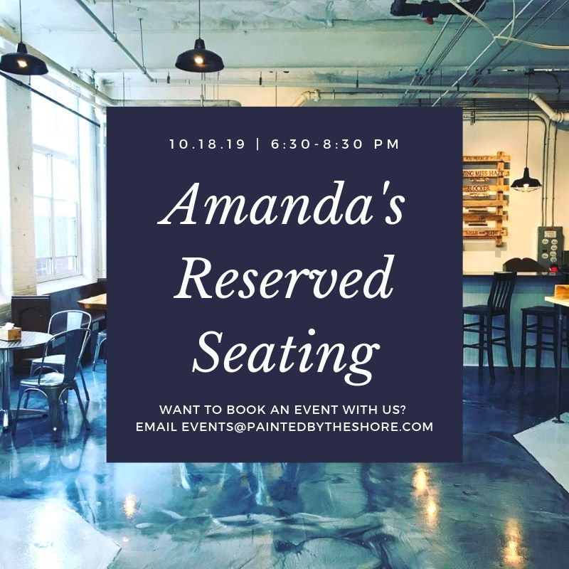 Amanda's Book Club: Reserved Seating at Smug Brewing Co. in Pawtucket RI | 10.18.19 at 6:30 PM