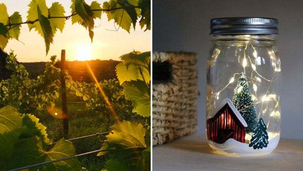 *NEW VENUE* Red Barn Lantern Workshop | Aquila's Nest Vineyards in Sandy Hook CT | 11.10.20 | 6-8 PM