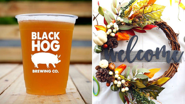 *NEW* Fall Welcome Wreath Workshop | Black Hog Brewing in Oxford CT | 10.23.20 | 5-7 PM
