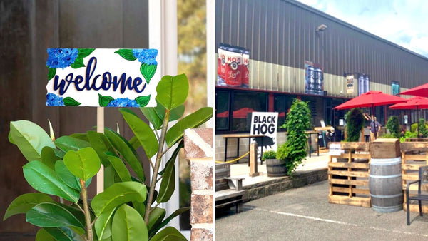 **OUTDOOR** Spring Paint & Sip | Black Hog Brewing in Oxford CT | 5.16.21 | 1:00-3:00 PM