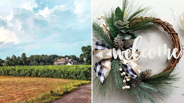 Winter Wreath Workshop | Brignole Vineyards in East Granby CT | 12.9.20 | 5-7 PM