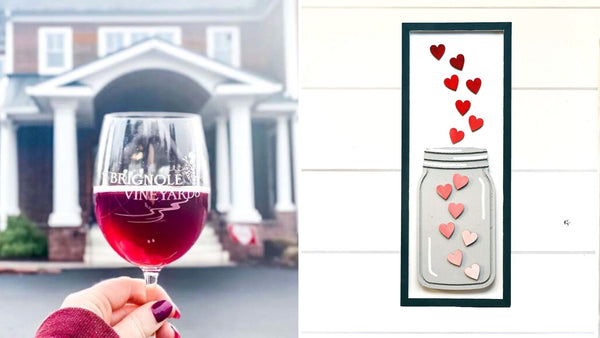 Valentine Art Workshop | Brignole Vineyards in East Granby CT | 2.11.21 | 5-7 PM