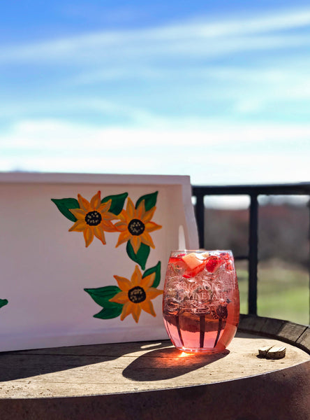 Sunflower Tray Paint and Sip at Brignole Vineyards in East Granby CT | 4.24.19 at 6 PM