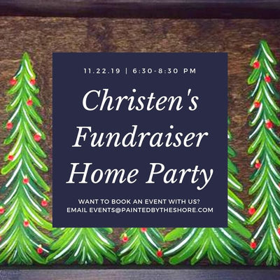 Christen's Paint & Sip Fundraiser in East Haven CT | 11.22.19 at 6:30 PM