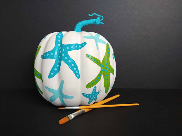 Coastal Pumpkin Paint & Sip