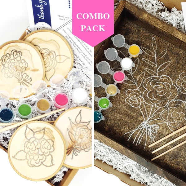 Bouquet Combo Pack DIY in a BOX