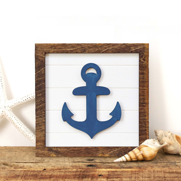 DIY in a BOX | Framed Anchor Sign