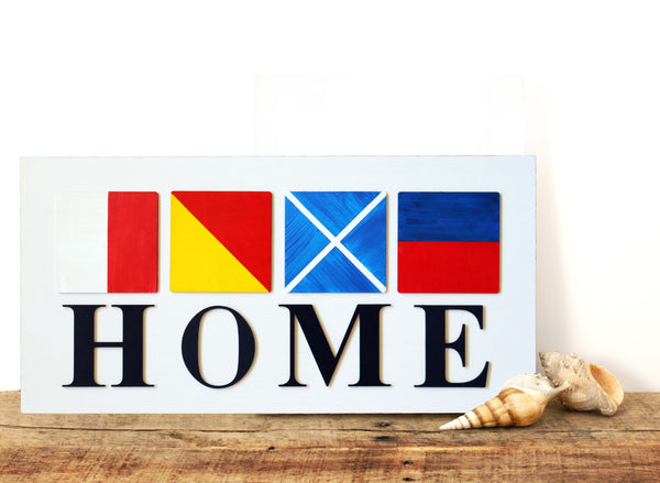 DIY in a BOX | Nautical HOME Sign