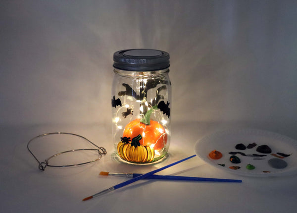 Wholesale DIY in a BOX | Fall 2020 Collection | Halloween Solar Lantern