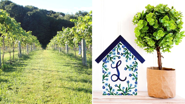 Farmhouse Sign Paint & Sip | Hawk Ridge Winery in Watertown CT | 4.29.21 | 6-8 PM