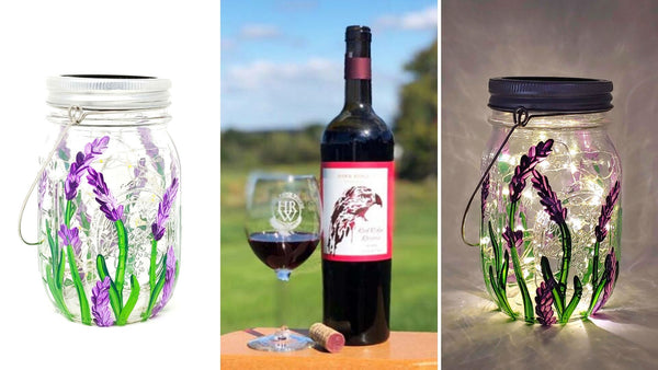 Solar Lantern Paint & Sip at Hawk Ridge Winery in Watertown CT | 4.9.20 | 6-8 PM