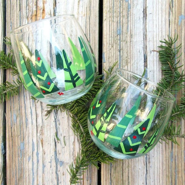 Nicole's Private Party | Geometric Tree Stemless Set | 12.12.20 @ 6 PM