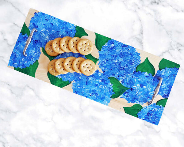 Virtual Art Workshop | Hydrangea Charcuterie Board | 4.14.21 @ 7 PM