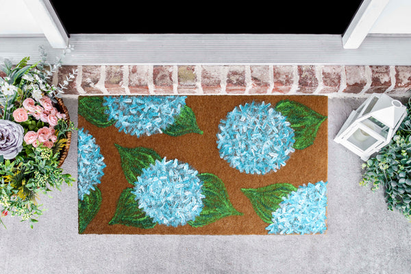 On-Demand Video Class | Hydrangea Welcome Mat | Available 5/20-6/10