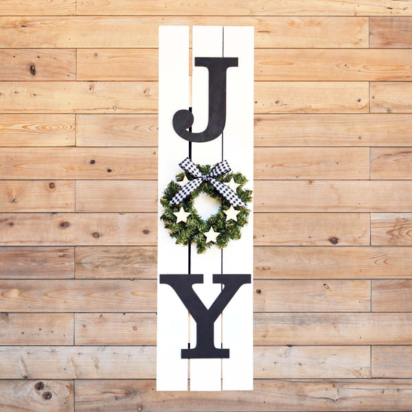 "Virtual Art Workshop | JOY 30"" Pallet Sign 