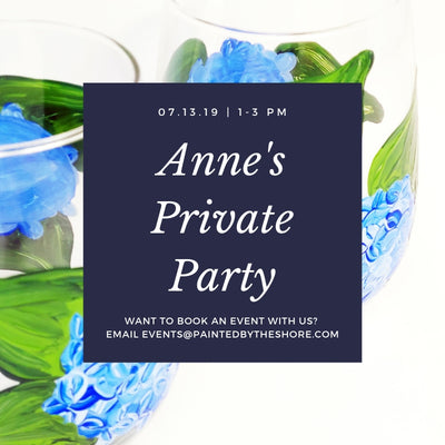 Private Party at Anne's Home | 7.13.19 at 1 PM